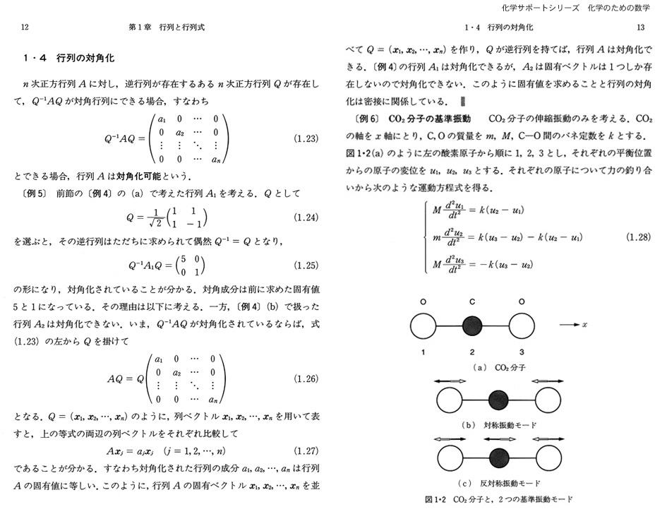 化学サポートシリーズ 化学のための数学Introduction to Chemical Mathematics